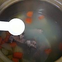 猪尾骨蚝干木瓜汤的做法图解9