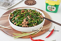 #一勺葱伴侣,成就招牌美味#香辣韭菜花炒肉丝的做法