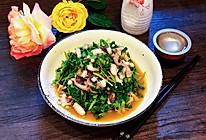 #爽口凉菜,开胃一夏!#凉拌章鱼菠菜的做法