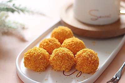 红薯芝士球,红薯最好吃的做法