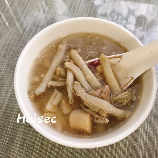 沙虫瑶柱汤的做法