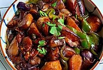 #营养小食光#比肉还好吃的素炒茄子的做法