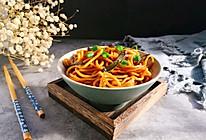 #520,美食撩动TA的心!#葱油拌面~简易版的做法