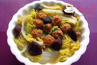 北方餐桌上的看家菜——大白菜圆子