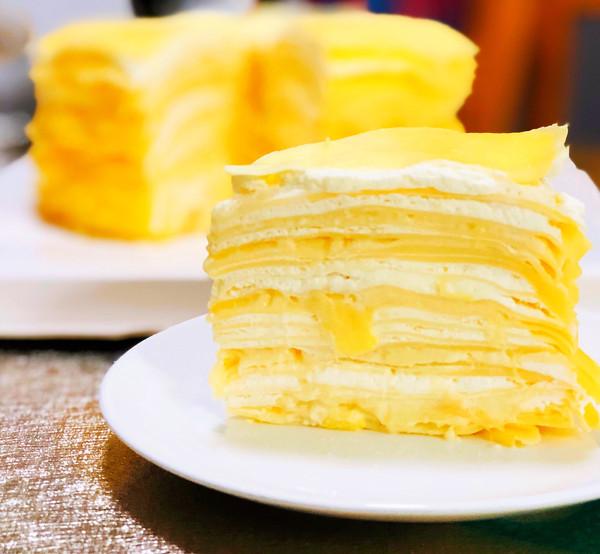 让你爱上榴莲的蛋糕:榴莲千层蛋糕的做法