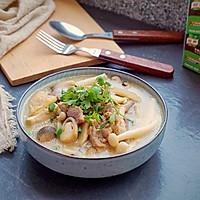 鲜菇杂菌浓汤的做法图解20
