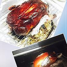 北京烤鸭烤箱版(附带荷叶饼做法)