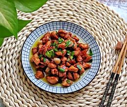 #一道菜表白豆果美食#爆炒鸡肉丁的做法