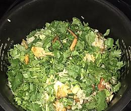 膏蟹焗饭的做法