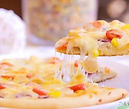 电饭煲版披萨 宝宝辅食食谱的做法