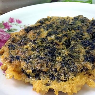 紫菜碎厚蛋烧