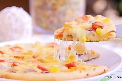 电饭煲版披萨 宝宝辅食食谱