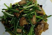 韭菜苔回锅肉的做法