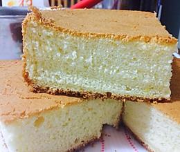 戚风蛋糕(蛋糕胚)的做法