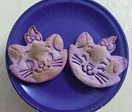 婴儿辅食磨牙紫薯饼干的做法