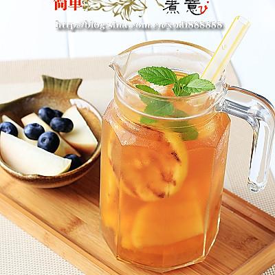 焦糖水果茶