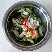 #花10分钟,做一道菜!#火腿肠炒黄瓜的做法图解6