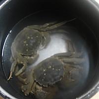 螃蟹年糕--冬季暖身的做法图解1