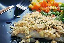 欧芹香煎龙利鱼(蛋卷版)——营养美味的快手早餐的做法