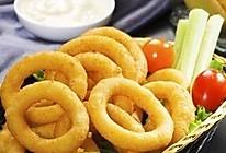炸洋葱圈(自制面包糠)的做法