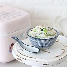 宝宝辅食添加 营养都在这一碗粥里,蔬菜瘦肉粥