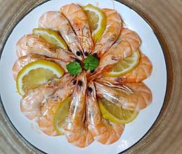 #夏日撩人滋味#柠檬蒸虾的做法