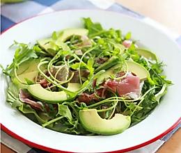 减肥低脂餐【蔬果火腿沙拉】 的做法