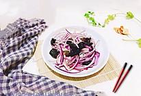 #爽口凉菜,开胃一夏!#洋葱拌木耳的做法