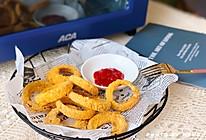 零食物语丨无油低脂香酥洋葱圈#夏日撩人滋味#的做法