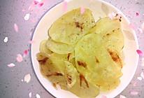 非油炸自制健康薯片的做法