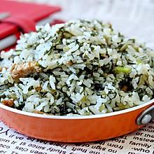 雪菜肉丝炒饭