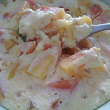 鸡蛋牛奶木瓜羹