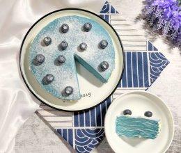 雾霾蓝千层蛋糕的做法