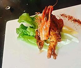 芝士大明虾的做法