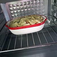 培根鲜蔬焗饭的做法图解5