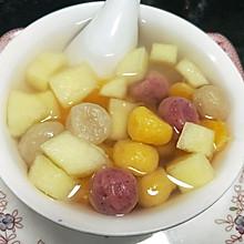 #柏翠辅食节-健康食疗#水果圆子