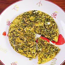 紫菜虾皮蛋饼
