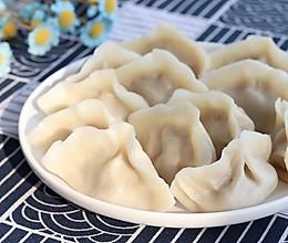 #人人能开小吃店# 牛肉水饺的做法