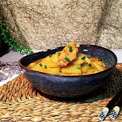 鸡翅炖土豆—简单快手宴客菜