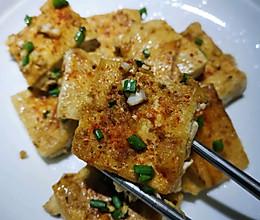家庭版铁板烧豆腐的做法