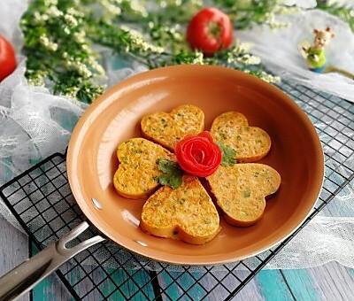 松软香嫩的番茄鸡蛋饼