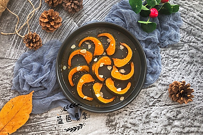 一口甜糯——蜂蜜烤贝贝南瓜