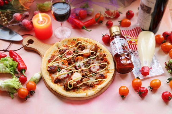 香辣鸡肉pizza-丘比沙拉酱的做法