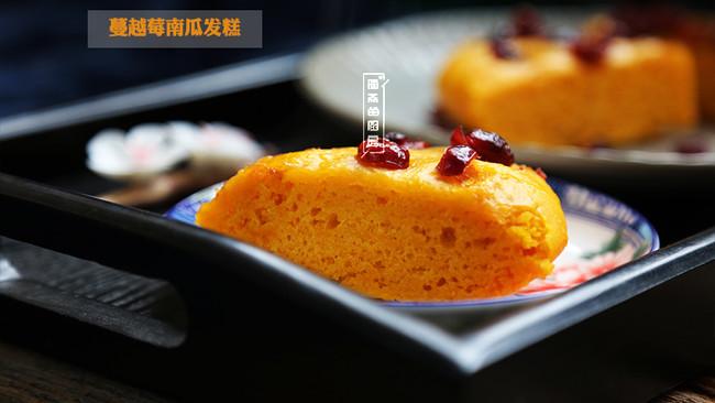 达人私房菜|秋日里不可或缺的美味中点-蔓越莓发糕的做法