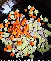 什锦豌豆糯米饭的做法图解5