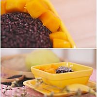 椰汁芒果黑米捞的做法图解12