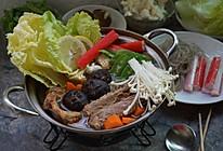 酱鸭火锅#竹木火锅,文艺腹兴#的做法