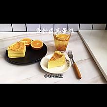 """#甜蜜暖冬,""""焙""""感幸福#香橙戚风蛋糕"""