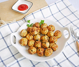 #母亲节,给妈妈做道菜# 低脂养生-豆腐肉丸子的做法