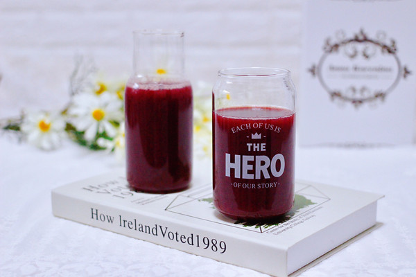 护眼抗衰老的蓝莓葡萄甜汁的做法